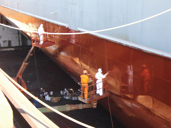 EnviroMarine coating
