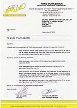 arno-certificate