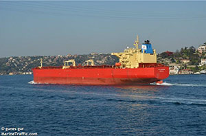 Last dry docked Remontowa August 2010. Photo taken June 2012 - Coated with Brunel Enviromarine.