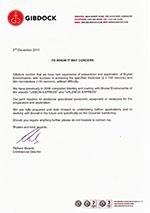 gibdock-certificate application